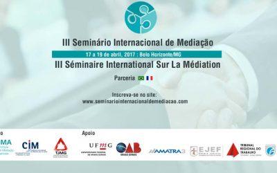 III SEMINARIO INTERNACIONAL DE MEDIAÇAO